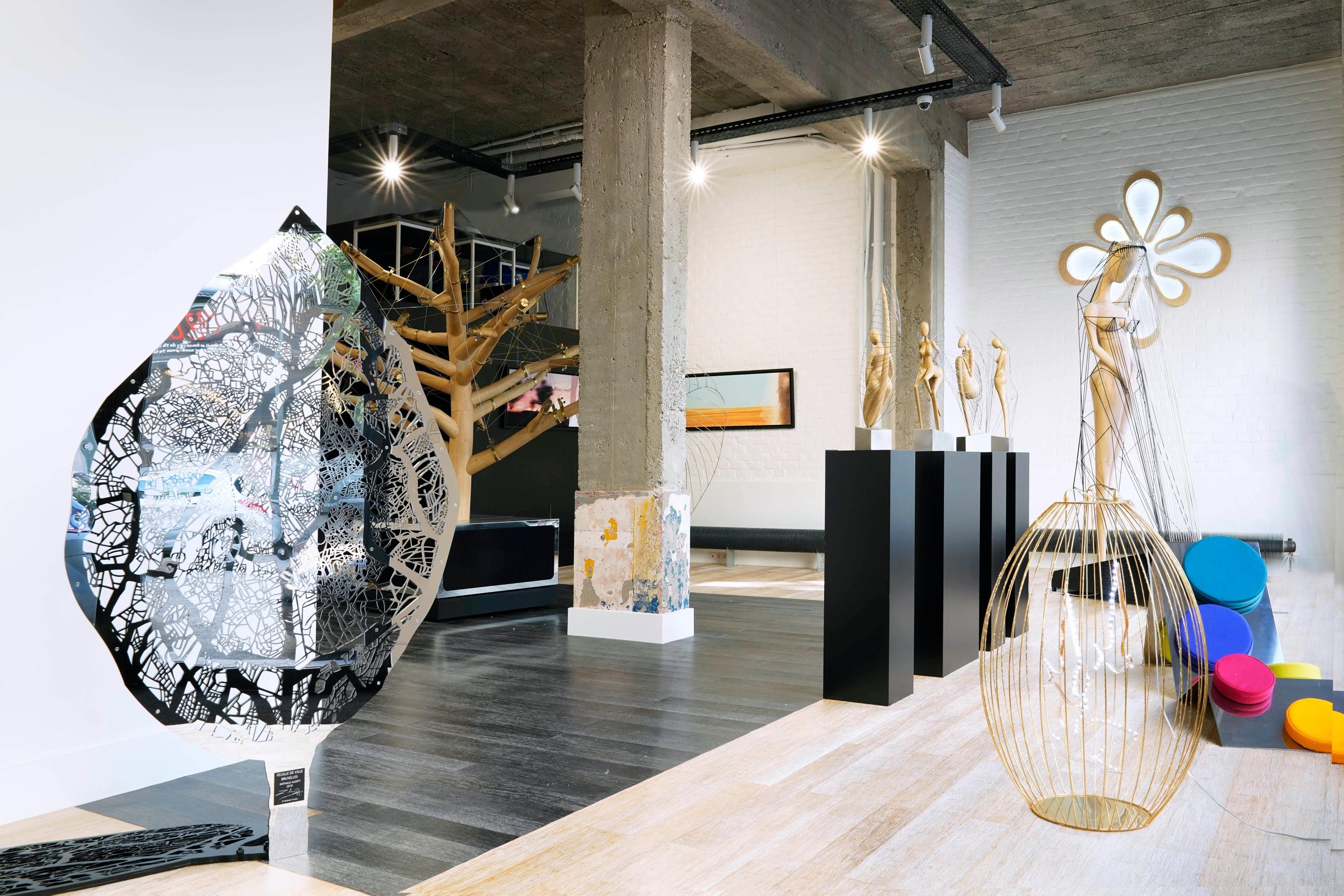 Bruxelles : l'artiste française Nathalie Auzepy s'empare de la capitale - 1