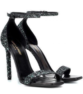 sandales glitter