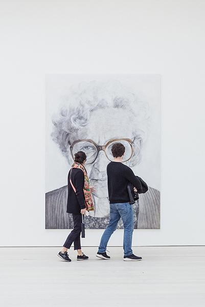 musée en couple