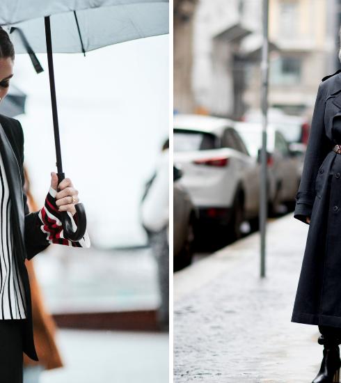 Comment s'habiller avec style sous la pluie ?