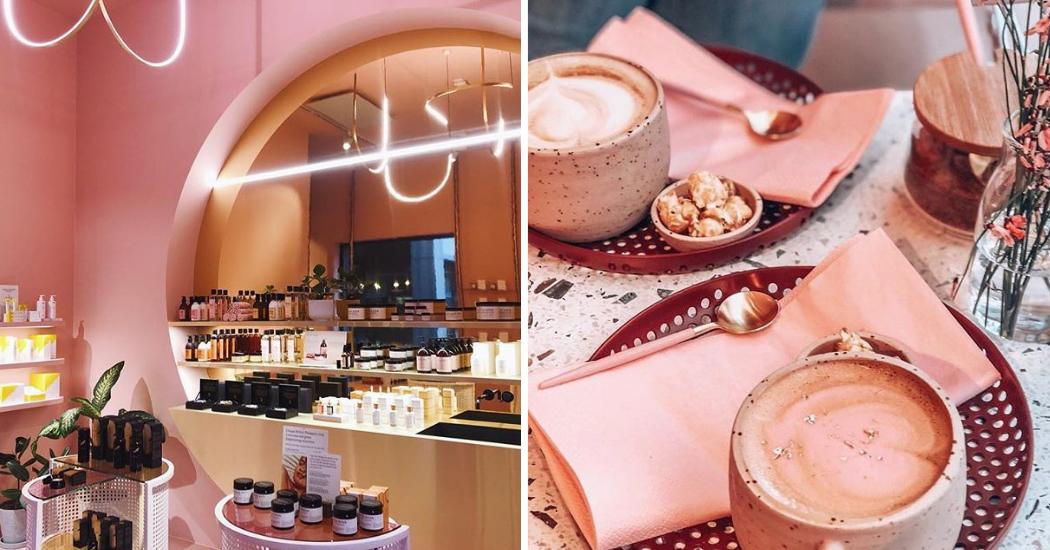 Anvers : MOOY, la boutique toute rose qui allie beauté et food