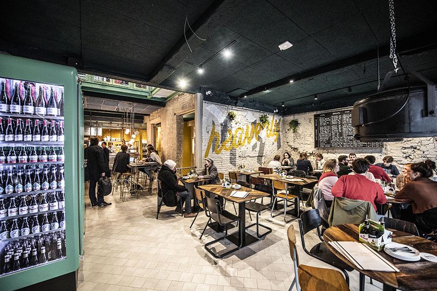 restaurant otomat intérieur
