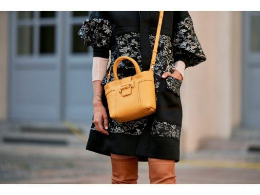 tendance fashion week tendance jaune