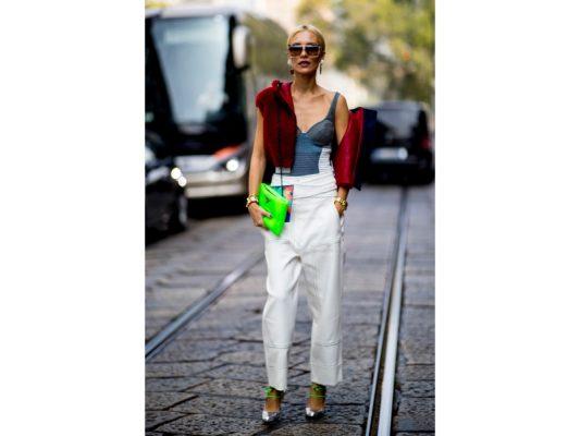 fashion week de milan tendance poches