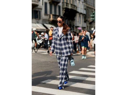 tendance des motifs à la fashion week de milan