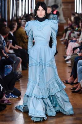 robe bleue Erden