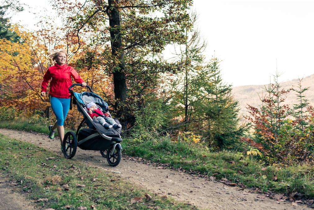 faire du jogging avec son bébé