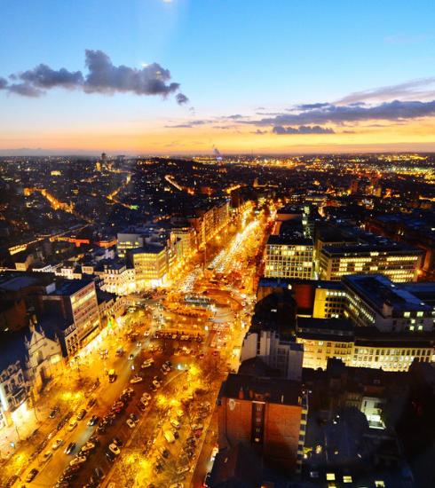 Bruxelles dans le top 10 des capitales européennes les plus connectées