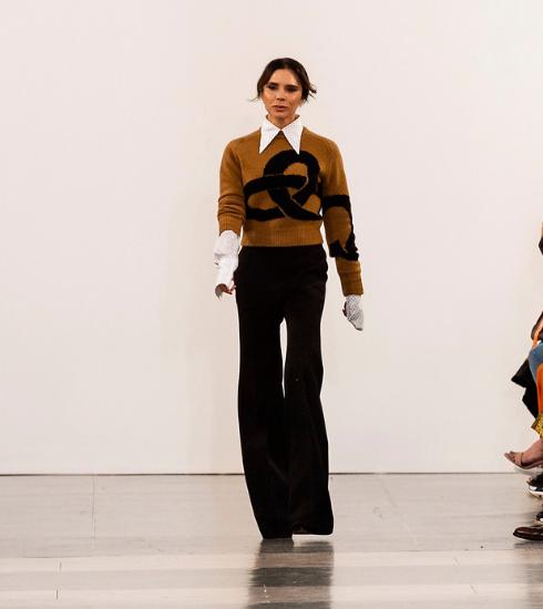 Mode : Victoria Beckham n'utilisera plus de cuir exotique dans ses futures collections