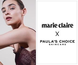 marie claire x Paula's choice