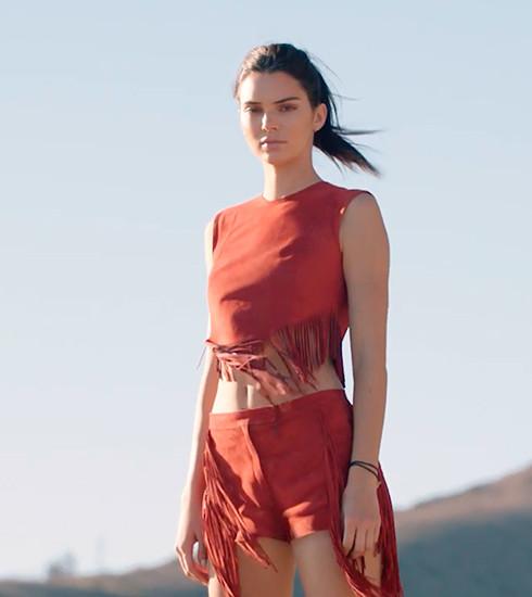Découvrez la campagne vidéo canon de Longchamp avec Kendall Jenner