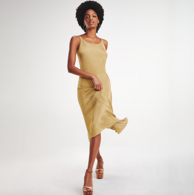 robe dorée Tommy Hilfiger