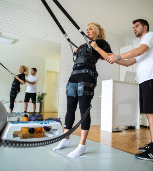 Testé pour vous : l'EMS, ou le sport par électrostimulation