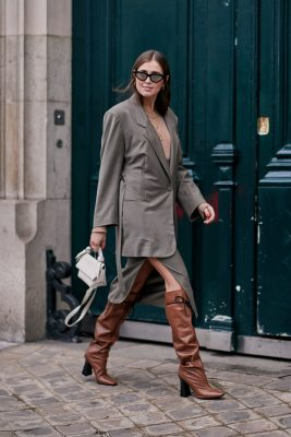 street style de la fashion week automne/hiver 2019 à Paris