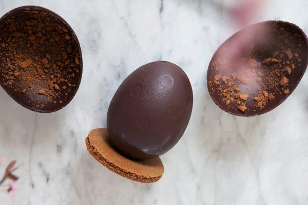 L'œuf en chocolat fondant,Dandoy x Laurent Gerbaud, 26,50€