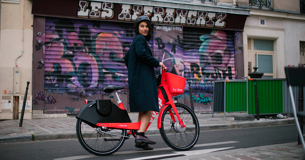 JUMP : les vélos électriques partagés de Uber débarquent à Bruxelles