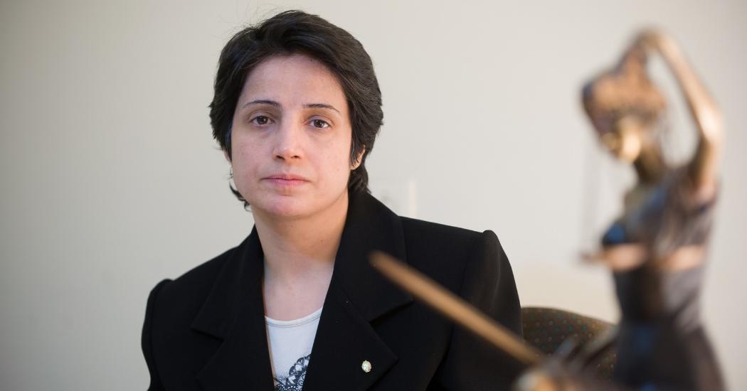 Marie Claire Belgique demande la libération de Nasrin Sotoudeh