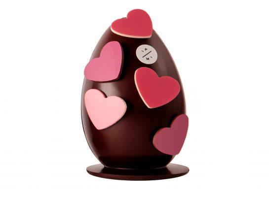 L'Œuf en Chocolat Noir ou Lait et ses 13 petits œufs, Pierre Marcolini, 39€