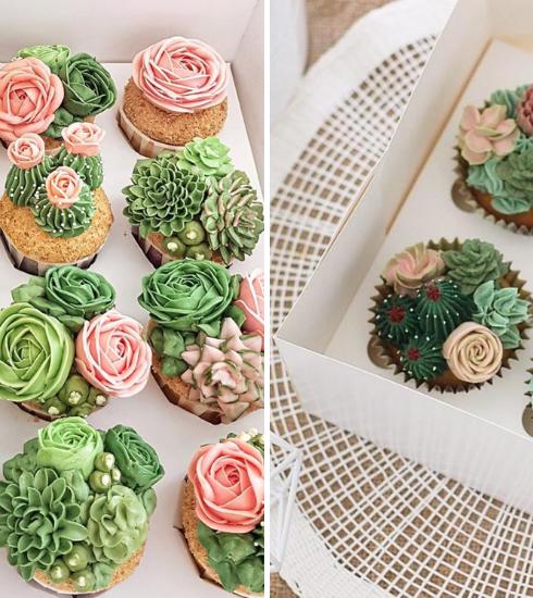 Recette : comment réaliser de magnifiques cupcakes cactus