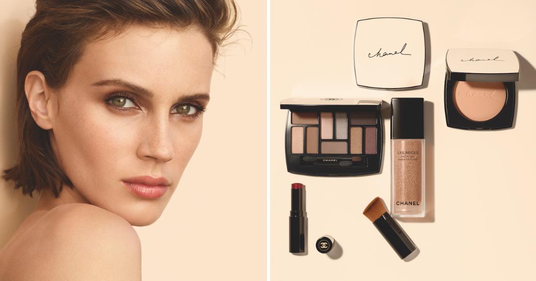 6ecbd656db Makeup : Les Beiges de Chanel, pour un effet bonne mine naturel ...