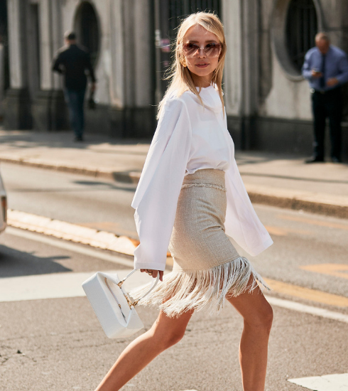 Tendance : on ose le total look blanc