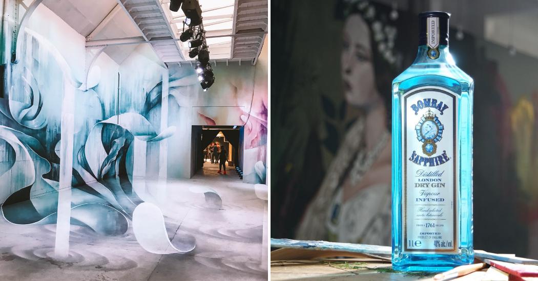 Bruxelles : l'expo temporaire Canvas by Bombay Sapphire revient, et vous devez absolument vous y rendre