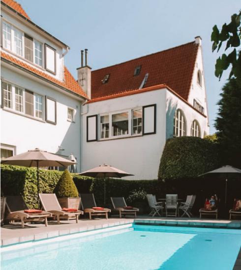 Staycation : les plus beaux hôtels avec piscine extérieure en Belgique