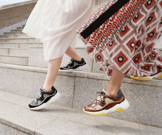 Crush of the day : les nouvelles baskets Freeminder de Longchamp