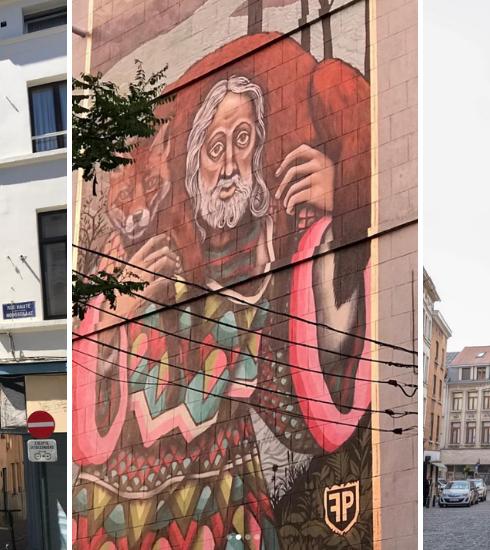 Avis aux amateurs de street art : 14 nouvelles fresques revisitent les oeuvres de Bruegel dans les Marolles