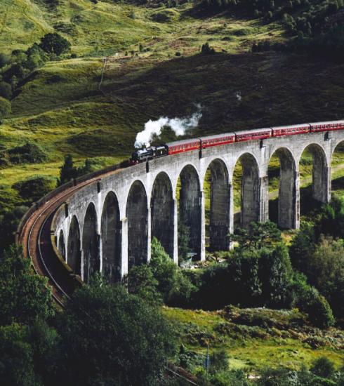 Neuf des plus beaux voyages en train à travers l'Europe