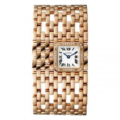 Crush of the day : la Panthère de Cartier revisitée en manchette et en montre mini 150*150