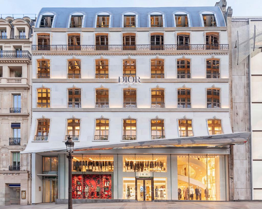 Dior ouvre sa nouvelle boutique sur les Champs-Élysées