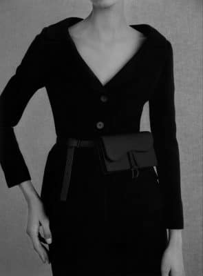 Crush of the day : Dior revisite 3 sacs iconiques en noir ultramat 150*150