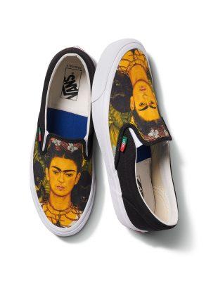 Crush of the day : Vans lance une nouvelle collection en hommage à Frida Kahlo 150*150