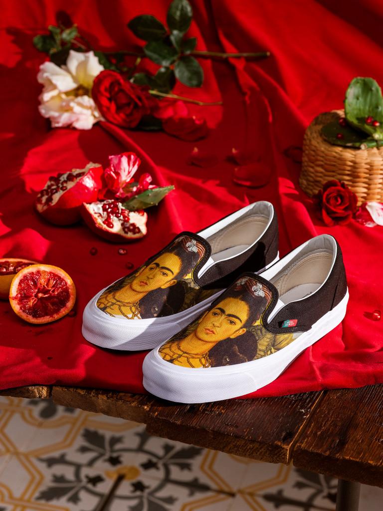 Crush :Vans lance une nouvelle collection en hommage à Frida Kahlo