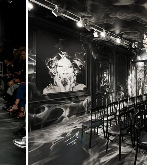 Christian Dior : retour en images sur le décor spectaculaire du défilé Automne/Hiver