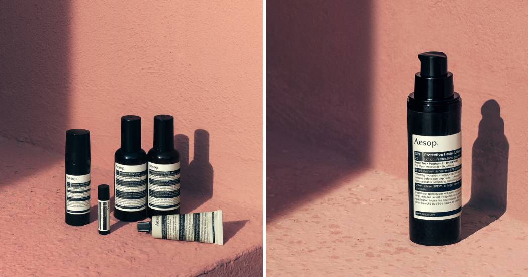 Crush of the day : la gamme Sun Care d'Aesop