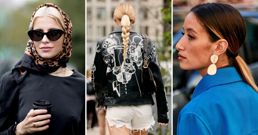 Streetstyle : les plus belles coiffures par temps chaud