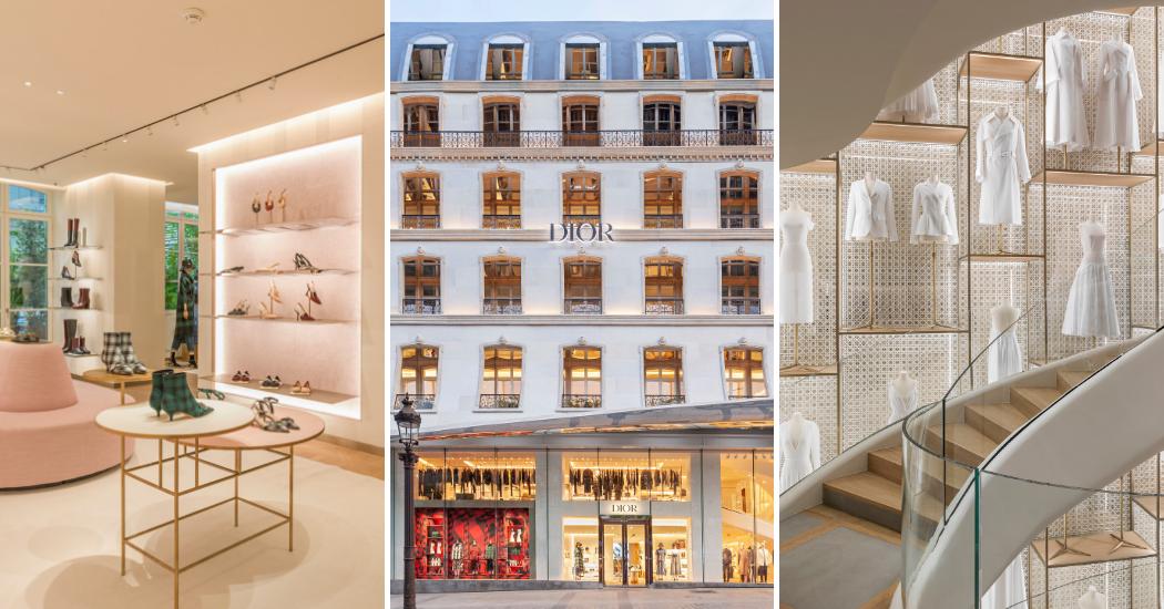 Paris : Dior ouvre une nouvelle boutique grandiose sur les Champs-Élysées