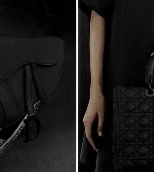 Crush of the day : Dior revisite 3 sacs iconiques en noir ultramat