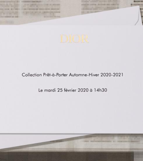 Livestream : le défilé Christian Dior automne-hiver 2020-2021 comme si vous y étiez