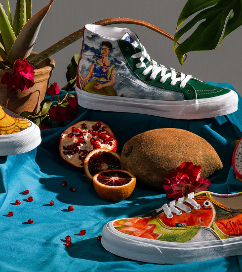 Crush of the day : Vans lance une nouvelle collection en hommage à Frida Kahlo