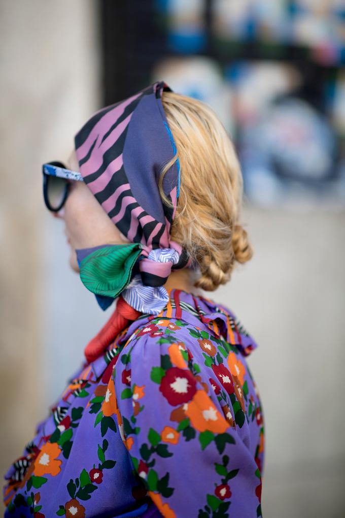 Tendance : les plus belles coiffures streetstyle par temps chaud