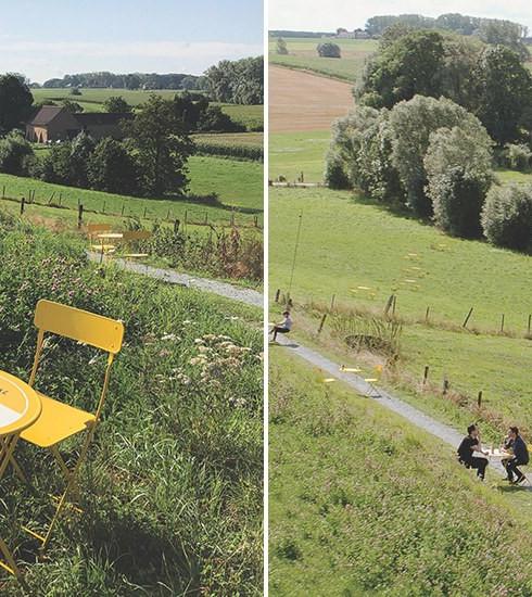 Leffe invite les Flamands et les Wallons à partager une bière le long de la frontière linguistique