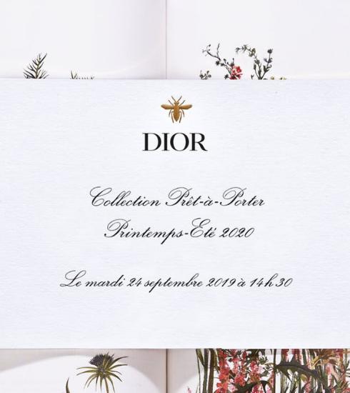 Livestream : le défilé Christian Dior Printemps-été 2020 comme si vous y étiez à 14h30