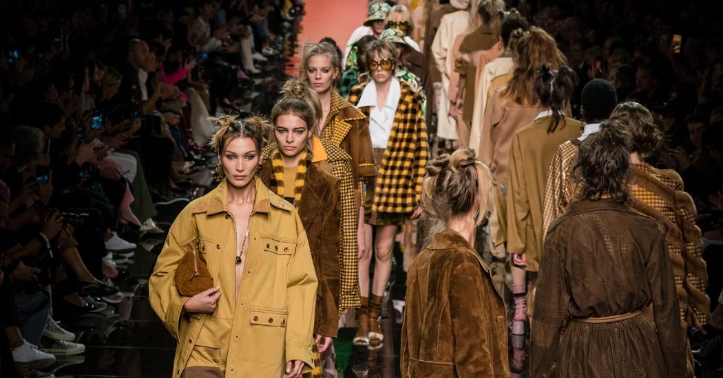 Milan Fashion Week : retour en images sur le défilé Fendi printemps-été 2020
