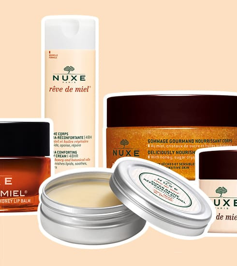 Crush of the day: la gamme Rêve de miel de Nuxe