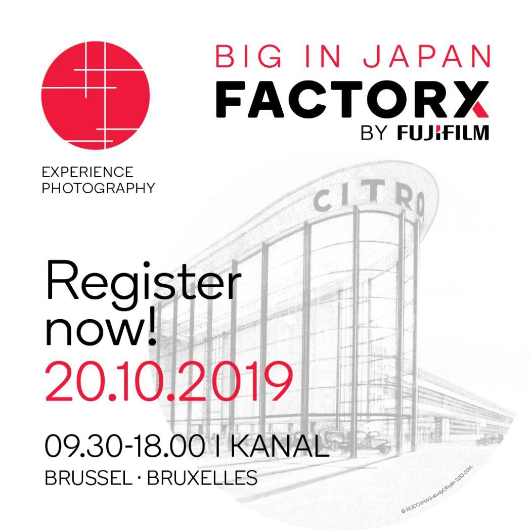 Agenda : Factory X by Fujifilm, le rendez-vous à ne pas manquer pour les mordus de photo - 1