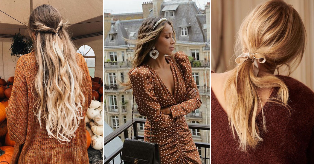 10 jolies coiffures simples à adopter cet automne/hiver