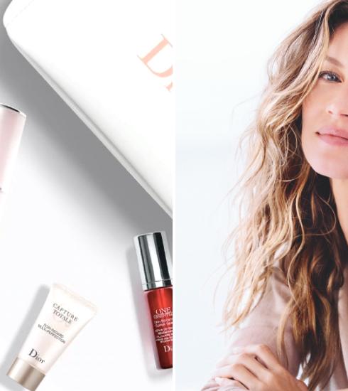 Gisele Bündchen, nouveau visage de la gamme de soins Capture Totale de Dior